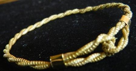 Pulseira em Capim Dourado